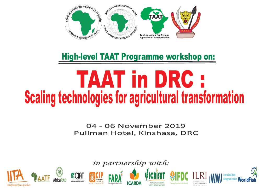 TAAT in DRC: Scaling Up Technologies for Agricultural Transformation