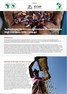 Technologies for African Agricultural Transformation High Iron Bean (HIB) Compact